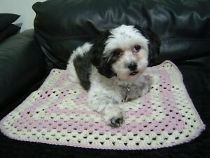 Crochet Blanket, Pet Car Seat/Sofa/Chair Protector (S4)