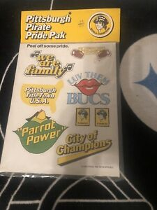VINTAGE 1979-1980 PITTSBURGH PIRATE PRIDE PAK BASEBALL STICKERS