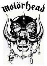 Motorhead War Pig contoured clear vinyl window sticker 150mm X 75mm Lemmy