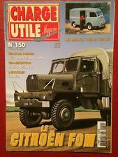 CHARGE UTILE n°150 - Citroen FOM Renault 1000 et 1400kg Tps DUSSON-FOUVET Faun