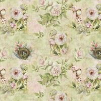Rose Divine Love Impressions Floral 100% cotton fabric by the yard