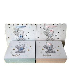 Me To You New Baby Boy`s or Girl`s Gift Box Or Gift Bags Tagged Tatty Teddy Bear