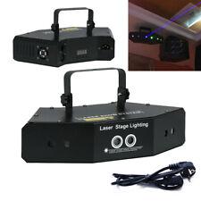 6 Lens RGB Scan Laser Light DMX Line Beam Scanning Stage Lighting DJ Dance Bar