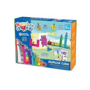 Learning Resources Mathlink Cubes Numberblocks 1-10 Activity Set Early Learning