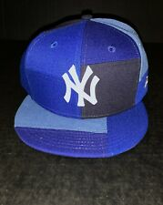 New York Yankees Snapback Hat New Era OSFM New W/Out Tags Blue Denim Patch