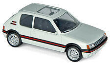Peugeot 205 GTI 1,9 Limousine 1986-92 weiß white 1:43 Norev