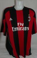 Original Adidas AC Mailand Trikot Gr. XXL Saison 2010 / 11 TOP ZUSTAND