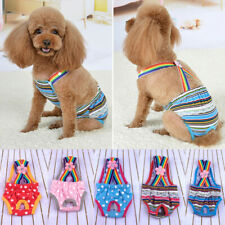 Female Dog Physiological Pants Healthy Care Diaper Pants Pet Suspenders ACCS.