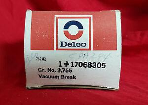 Carburetor Choke Pull Off NOS Delco 17068305 Vacuum Break