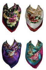 Écharpes et châles foulard en satin pour femme
