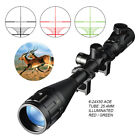 Rifle Scope Tactical Optical Sight 6-24x50AOE Mil-Dot illuminate Reticle Hunting