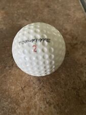 Spalding Top-Flite X-Out Rare Vintage Golf Ball (1) PreOwned