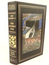 The IPCRESS File, Len Deighton. Classic spy, mystery, thriller, novel. Franklin
