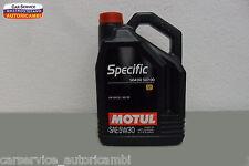 OLIO MOTORE MOTUL Specific 504 00 507 00 SAE 5w30 per VW  Audi  Skoda  Seat 5 LT