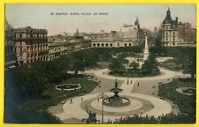 cpa Tarjeta Postal BRASIL BRÉSIL BUENOS AIRES Plaza de Mayo