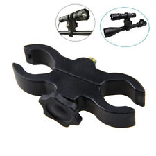 Mount Clamp Clip For Flashlight Torch Telescope Sight Laser Scope Bicycle Holder