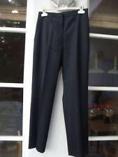 6145e16f561f5 Damenhosen aus Wollmischung mit mittlerer Bundhöhe und geradem Bein ...