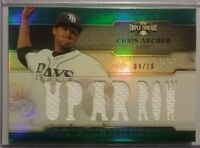 2014 Topps Triple Threads Relics Emerald CHRIS ARCHER 4/18