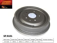 Brake Drum Rear,Front Best Brake GP8101