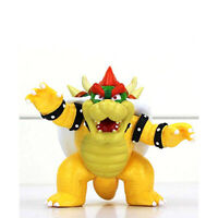 """Super Mario 4"""" inch Bowser King Koopa Action Figures Kids Toy Gift Collection"""