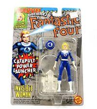 ToyBiz - Marvel Super Heroes - Fantastic Four 4 - Invisible Woman Action Figure