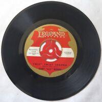 """Gary US Bonds TWIST TWIST SENORA / FOOD OF LOVE 1962 45rpm 7"""" Legrand 1018"""