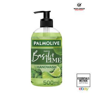 Palmolive Botanical Basil & Lime Hand Wash Soap 91% Natural Origin - 500ml