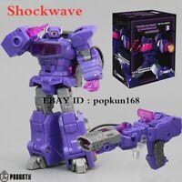 """New In Stock Shockwave Pocket Toys PT03 Shockblast G1 Action Figure 4"""" Kids Gift"""