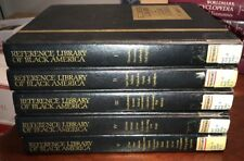 Reference Library Of Black America (1992, Volumes I-V) - Harry A. Ploski, Pd.D.
