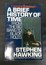 RIP Stephen Hawking Brief History of Time: Big Bang to Black Holes 1st Ed SC