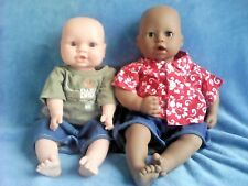 LOT OF 2 ACTIVATED REBORN LIFELIKE REALISTIC BABY BOY DOLLS