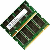 2x 2GB 1GB Lot Memory Ram 4 Dell Latitude D500 D400 D600 D505 X300 upgrade