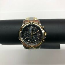 Seiko Solar Two Tone Men's Watch Model SSC142