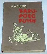 A A Milne - WINNIE THE POOH - Estonian 1st edition, Estonia 1968