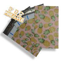 uPaknShip 6x9 Pineapple Print designer poly mailers shipping envelopes