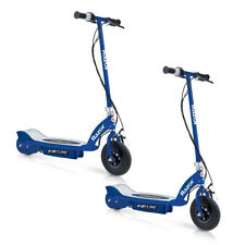 Razor E125 Motorized 24 Volt Rechargeable Kids Electric Scooter, Blue (2 Pack)