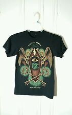 ELECTRIC ZOMBIE BAND TEE BLACK SHORT SLEEVE GRAPHIC XS UNLOCK YOUR DESTINY
