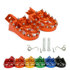 CNC Pit Dirt Bike Foot Pegs Rests Footpegs Pedal Pads For HONDA CRF XR 50 70 110