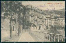Genova Città Corso Firenze cartolina RB8089