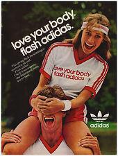 Original 1982 Adidas Vintage Print Ad