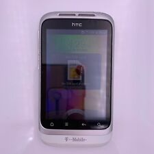 HTC PG76240 Wildfire S T-Mobile Cellphone - White - GOOD + Chrger