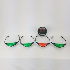 Nerf Fire Vision Sports Glasses Frames With Basketball 3 Green 1 Red BW