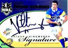 07 SELECT PROVAN/SUMMONS MEDAL REDEMPTION SIGNATURE CARD NATHAN HINDMARSH #68