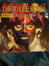 DAVID LEE ROTH ~ EAT EM AND SMILE ~ ORIGINAL 1986 ROCK VINYL LP