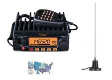Yaesu FT-2980R 80W FM 2M Mobile Transceiver with MFJ-1728B 2m Mag-Mount Antenna