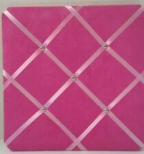 French Bulletin Board Photo Memo Pink- 13x13