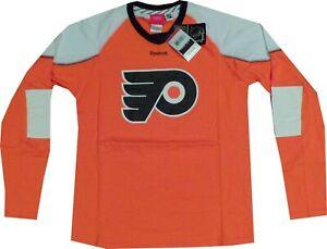 Philadelphia Flyers Men's Edge Long Sleeve Shirt Clearance $35 New tags SMALL