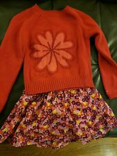 NwoT American Girl dress like.your doll  sz 7 small 7/8 sweater and skort