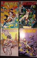 Trekker (Lot of 4) Issues #2-5 Copper Age comic Book Lot