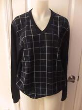 Brooks Brothers L V-Neck Regular Size Sweaters for Men